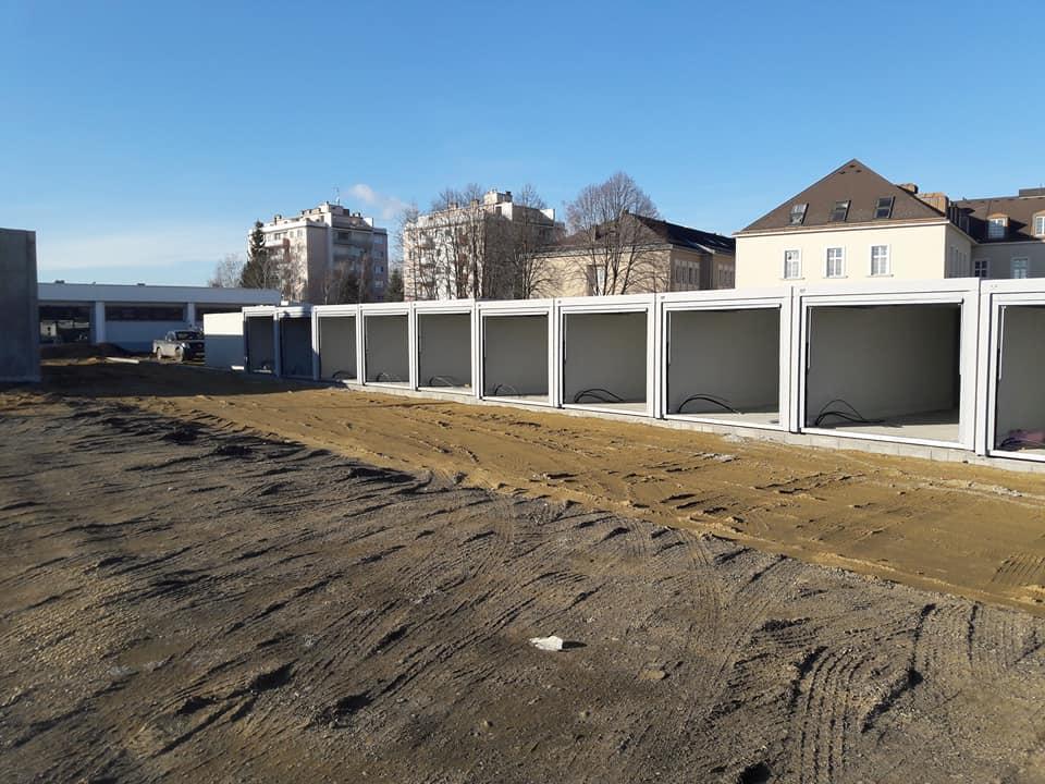Garagenpark Mistelbach Baufortschritt 13.12.2017