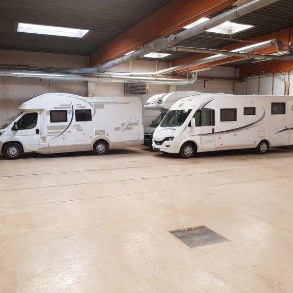 Abstellplätze für Wohnwagen in Stronsdorf